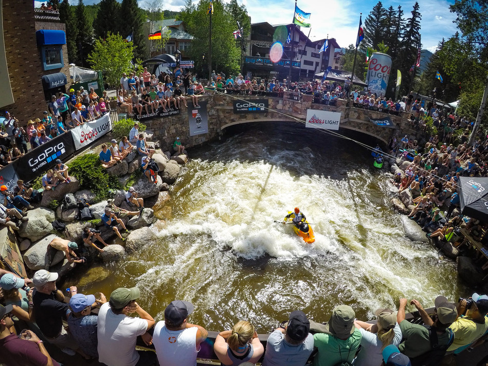 More than 70,000 spectators, 3,300 athletes and 140 brands took part in the 16th GoPro Mountain Games in Vail, Colorado June 8-11, 2017. Photo by Rick Lohre.