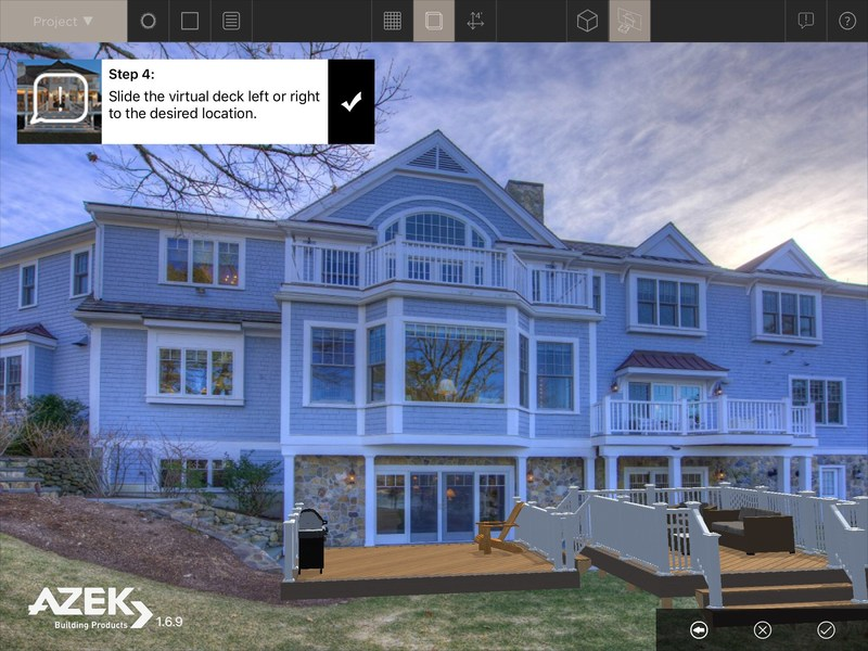AZEK® Building Products unveils app update designed to bring dream decks to life.