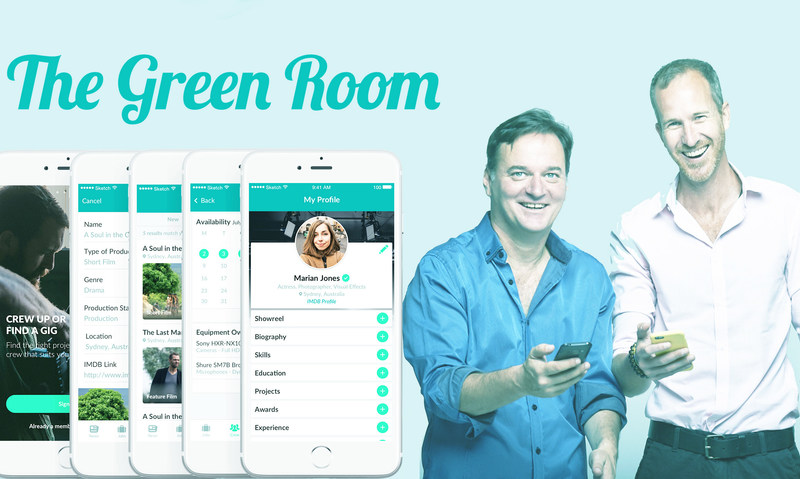 Green Room Founders Kosta Nikas and Peter Lord