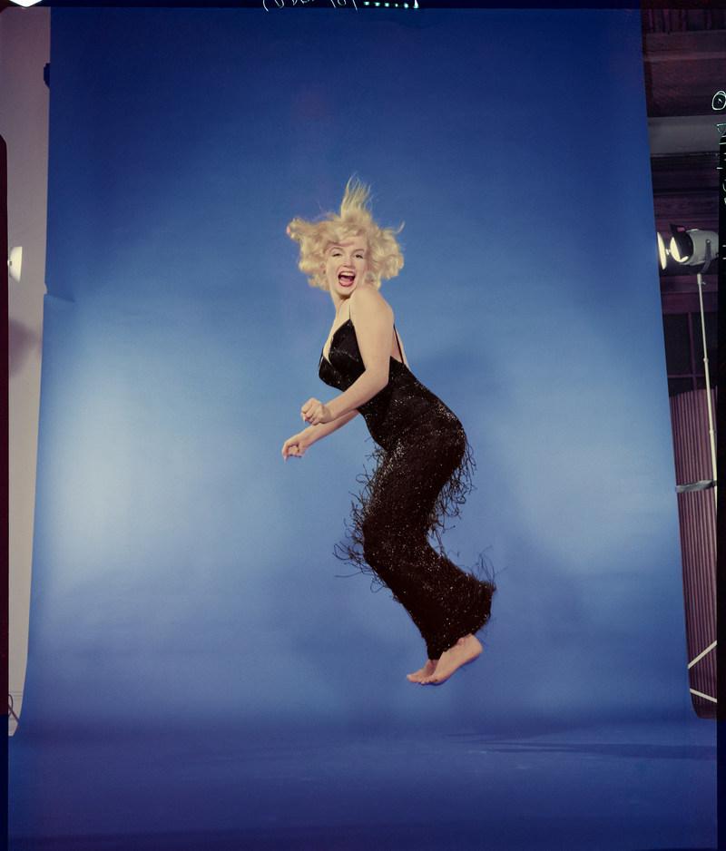 Philippe Halsman, Marilyn Monroe, 1959. Musée de l'Elysée, Lausanne. Photo: © 2016 Archives Philippe Halsman / Magnum Photos (CNW Group/Musée national des beaux-arts du Québec)