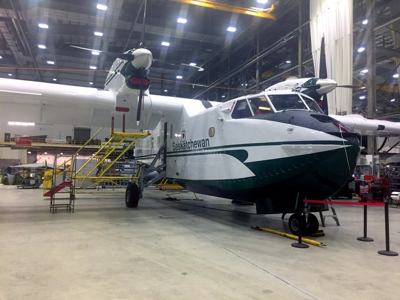 Just before Flight Test (CNW Group/Cascade Aerospace Inc.)