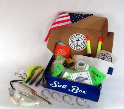Coastal salt box an exclusive monthly subscription for Monthly fishing box