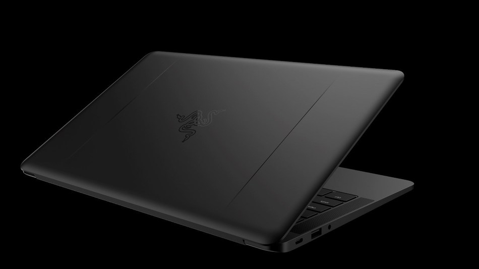 The new Razer Blade Stealth Ultrabook laptop - now available in black and gunmetal gray