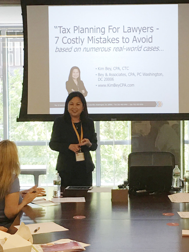 """Tax Planning for Lawyers: 7 Costly Mistakes To Avoid -- Lessons From A Top Professional."""