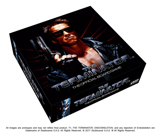 Box for The Terminator: The Official Board Game