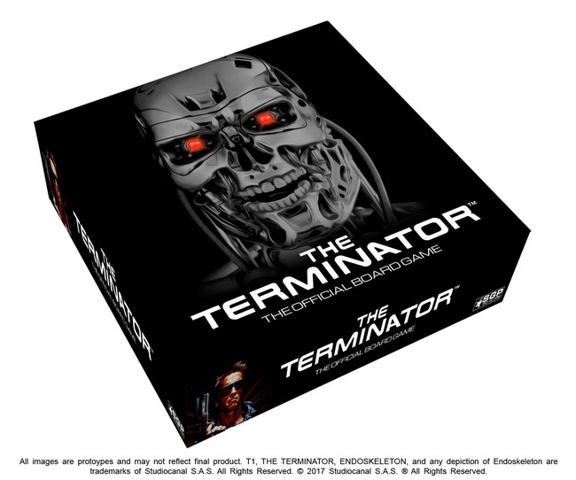 Box for the Space Goat Exclusive Termination box, with over 20 extra miniatures.