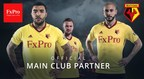 FxPro and Watford FC Announce Sponsorship Agreement