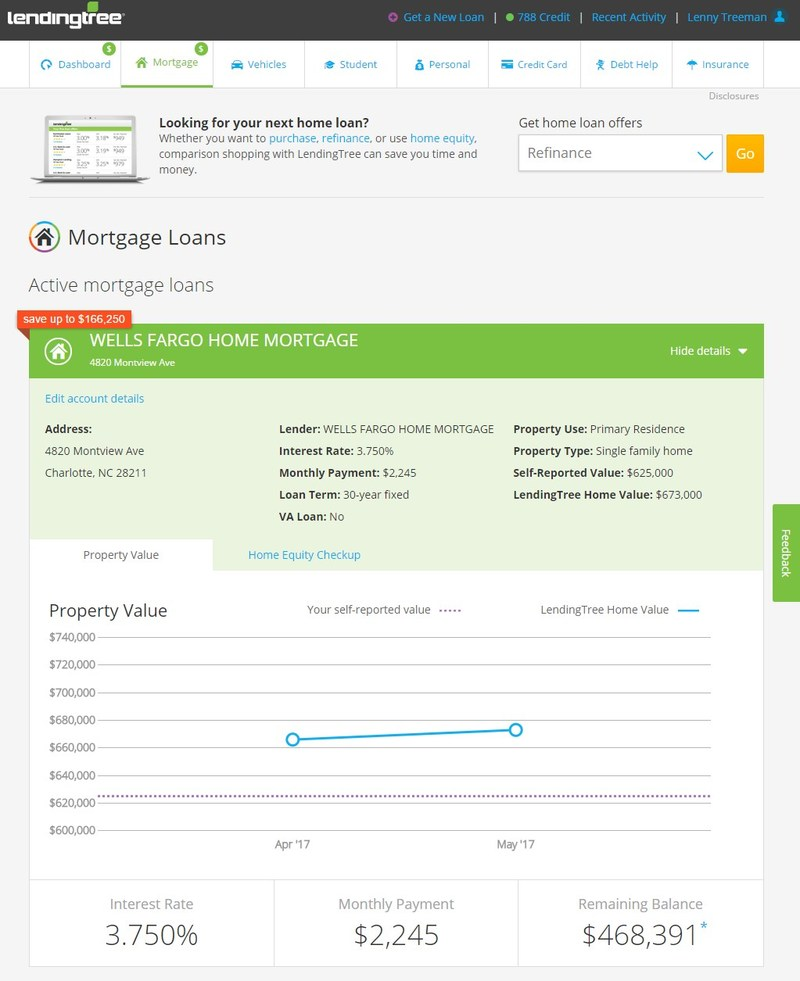 LendingTree Home Valuation
