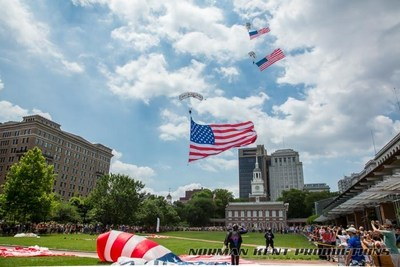 Flag Day at National Independence Historical Park