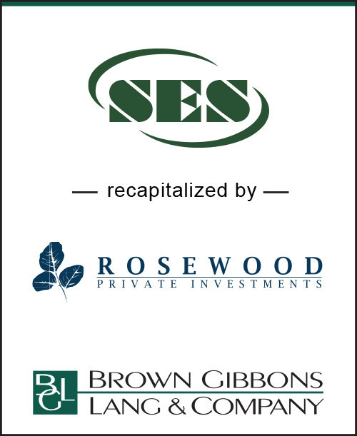BGL Announces the Recapitalization of Superior Environmental Solutions by Rosewood Private Investments, Inc., a subsidiary of The Rosewood Corporation. SES founders Dean Wallace and Chester Yeager have retained a significant ownership position in the company and will continue to lead SES post-transaction. Rosewood's operating advisor, Bill Massa, will join the company's board. BGL's Environmental & Industrial Services team served as the exclusive financial advisor to SES in the transaction.