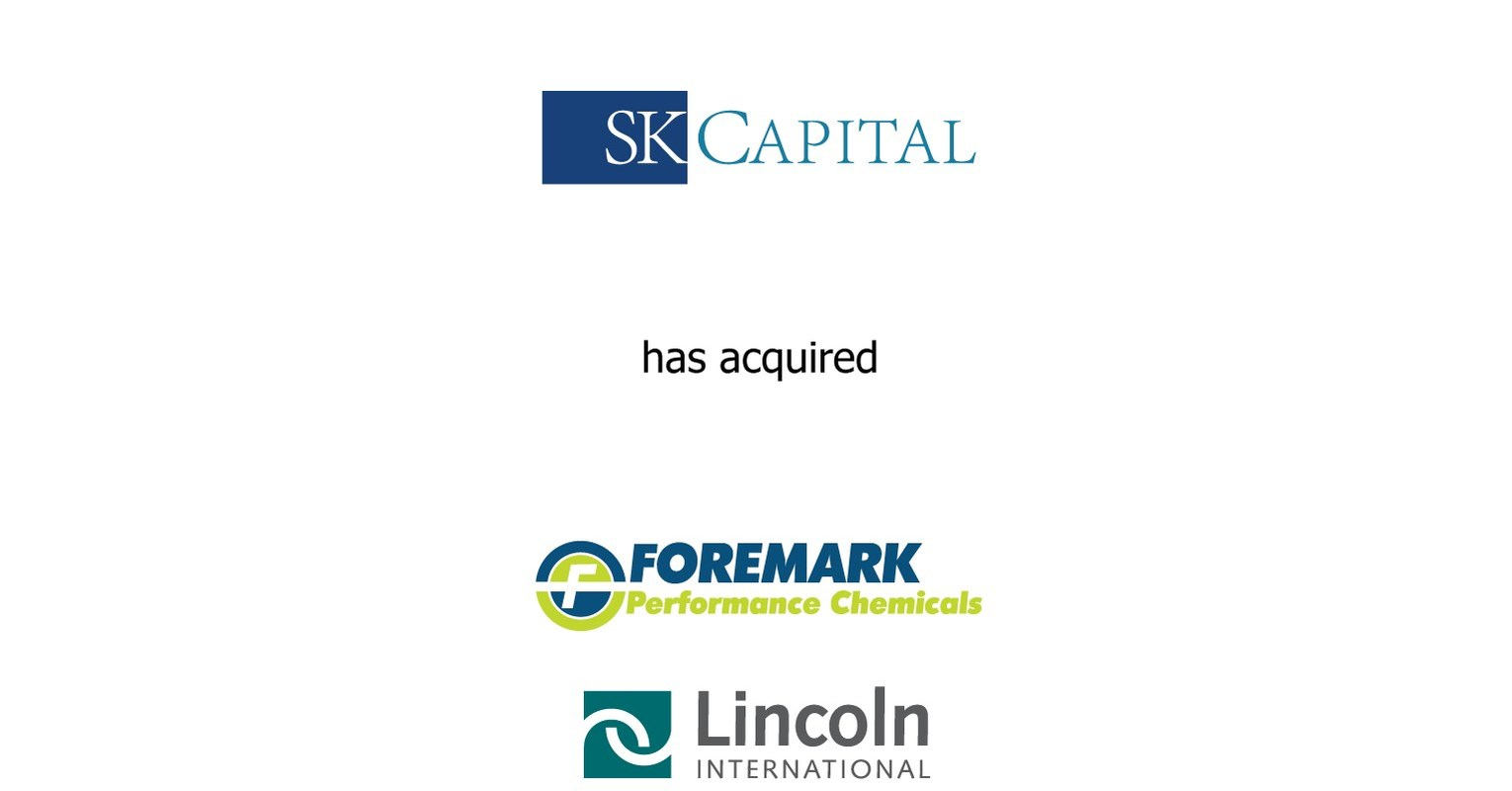 Lincoln International Represents Sk Capital Partners In