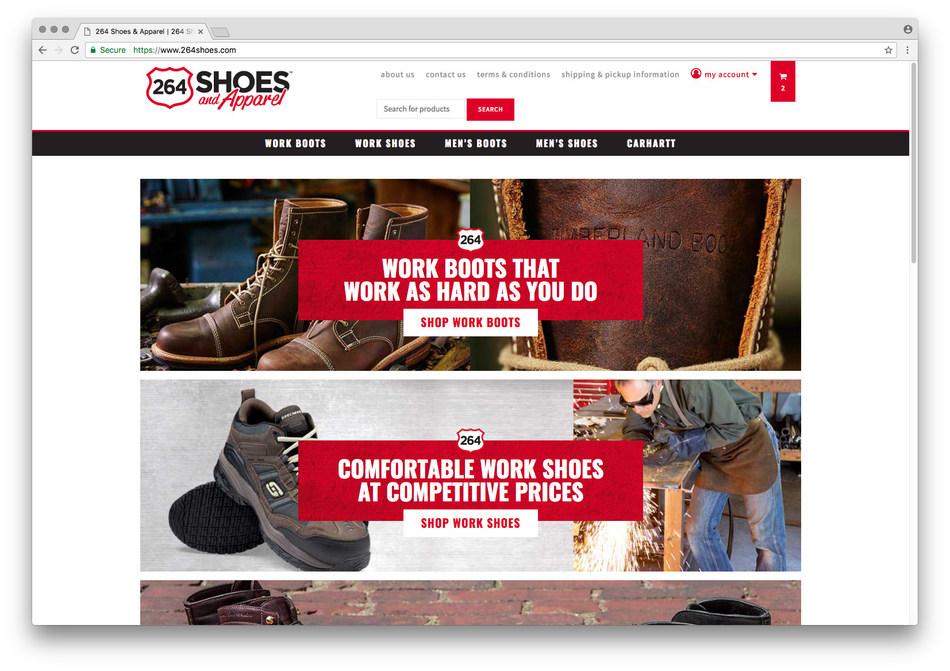 264Shoes.com Website