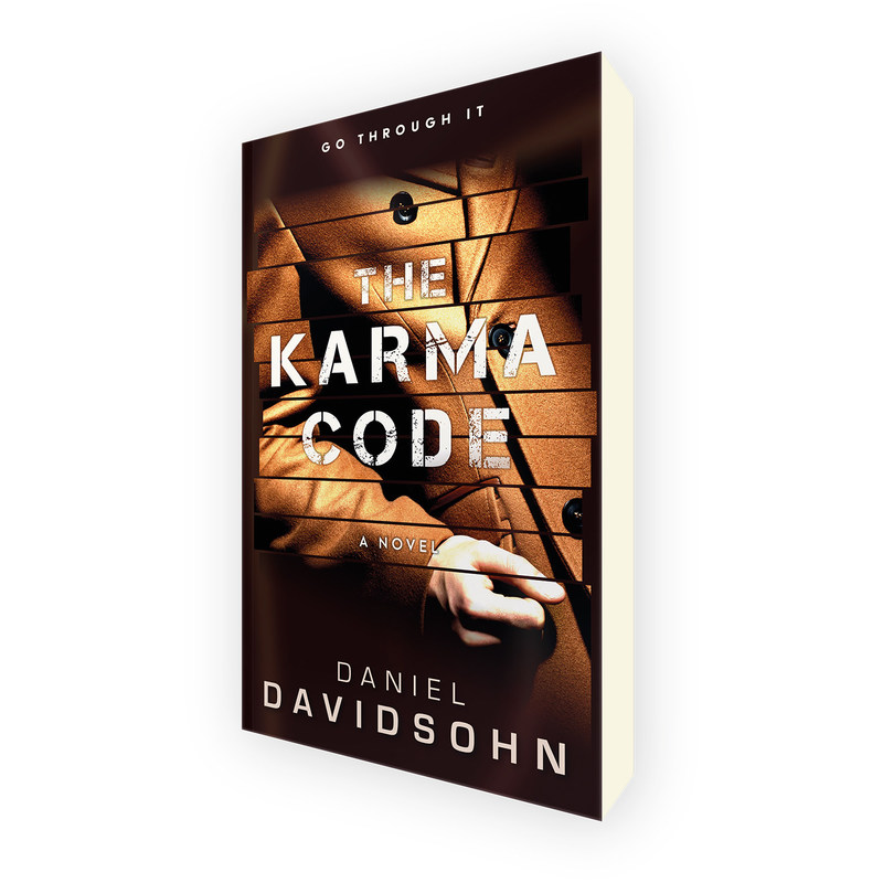 The Karma Code. New mystery thriller novel by Daniel Davidsohn.