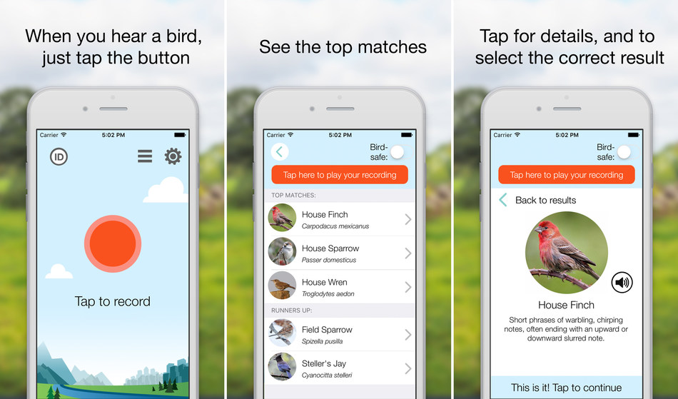 The bird identifier app ChirpOMatic is now ready for bird& enthusiasts in the United States.