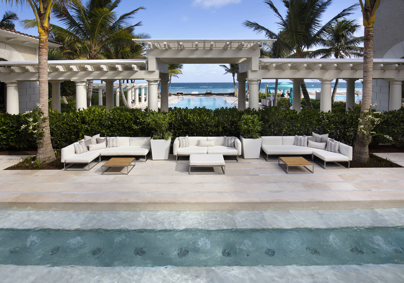 The Breakers' indoor/outdoor spa, a coveted destination for personal renewal.