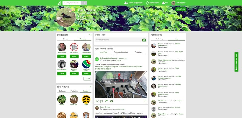 AgFuse, the social networking website for the agricultural community, announces a major upgrade to user experience and site functionality.