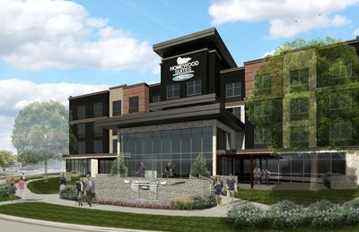 Homewood Suites by Hilton will open at Southdale in early fall 2018.