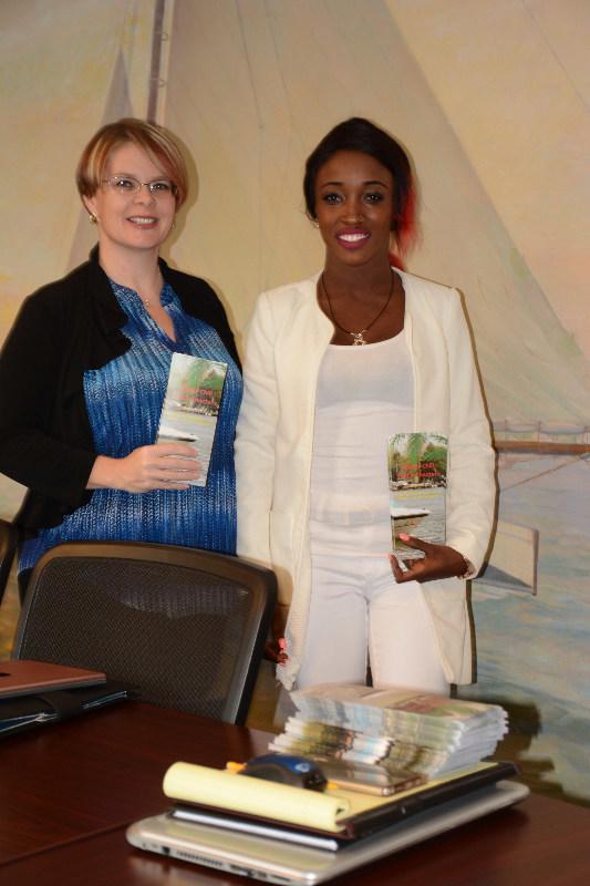 Sabrina, Senior Partnership Manager at Visit Annapolis & Anne Arundel County and Sta'cii Blake