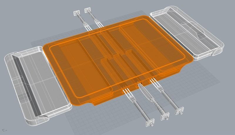 3-D Print of U-Board