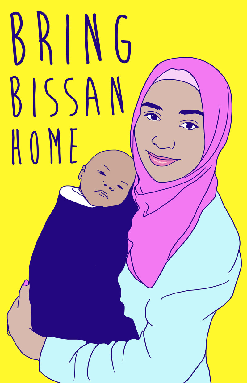 Bring Bissan Home (Groupe CNW/Concordia Student Union)
