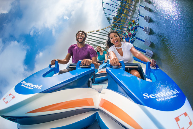 Wave Breaker: The Rescue Coaster opens to the public Friday, June 16, launching guests into a fun, adrenaline-pounding mission inspired by the heroics of the SeaWorld Animal Rescue Team.