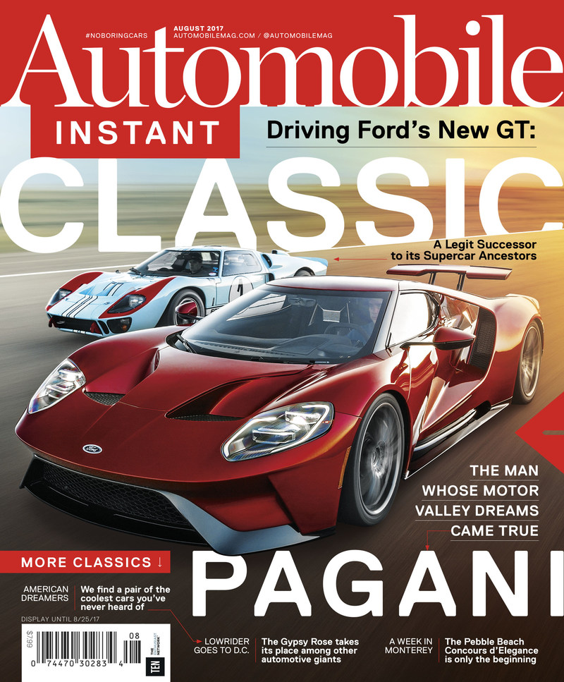 AUTOMOBILE Cover – August 2017