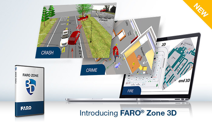 FARO® Zone 3D: Revolutionary Software Application for Public Safety Professionals