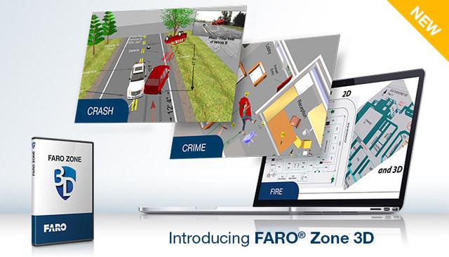 FARO® Zone 3D: Revolucionaria aplicación de software para profesionales en Seguridad Pública