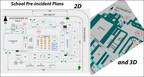 Cree planeaciones previas a incidentes en 2D y 3D para escuelas.