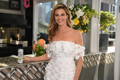 Erin Andrews partners with White Claw, a hard seltzer that delivers the cleanest, purest alcohol base possible, to provide the ultimate summer refreshment for men and women who value making better-for-you choices.