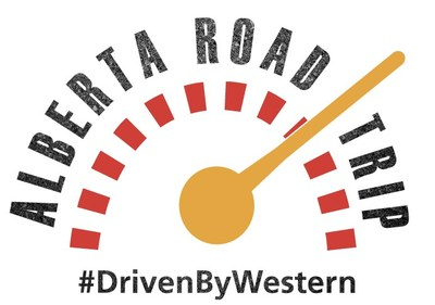 Alberta Road Trip #DrivenByWestern (CNW Group/Western Financial Group)