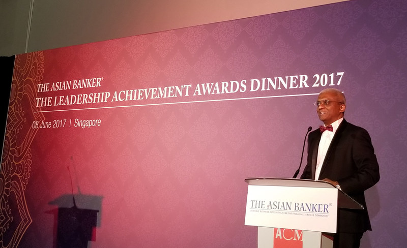 Mr. Emmanuel Daniel, President of The Asian Banker