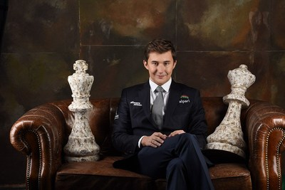 Sergey Karjakin, famous chess grandmaster. Millions of chess fans all over the world, especially in USA, EU, Ukraine, Russia, Belarus, China, India and Latin America, hope he will  win the title of World Chess Champion shortly. (PRNewsfoto/Alpari)