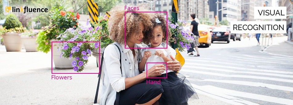 Linkfluence launches its own innovative image recognition technology, in a market estimated to be worth more than 25 billion dollars (PRNewsfoto/Linkfluence)