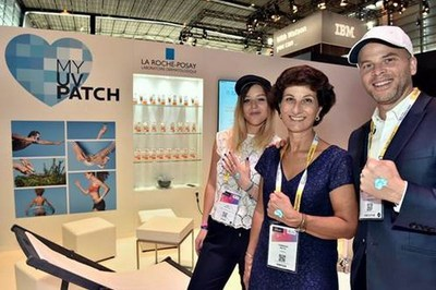 La Roche-Posay Reveals the Latest Edition of its My UV Patch at Viva Technology Paris (PRNewsfoto/La Roche-Posay)