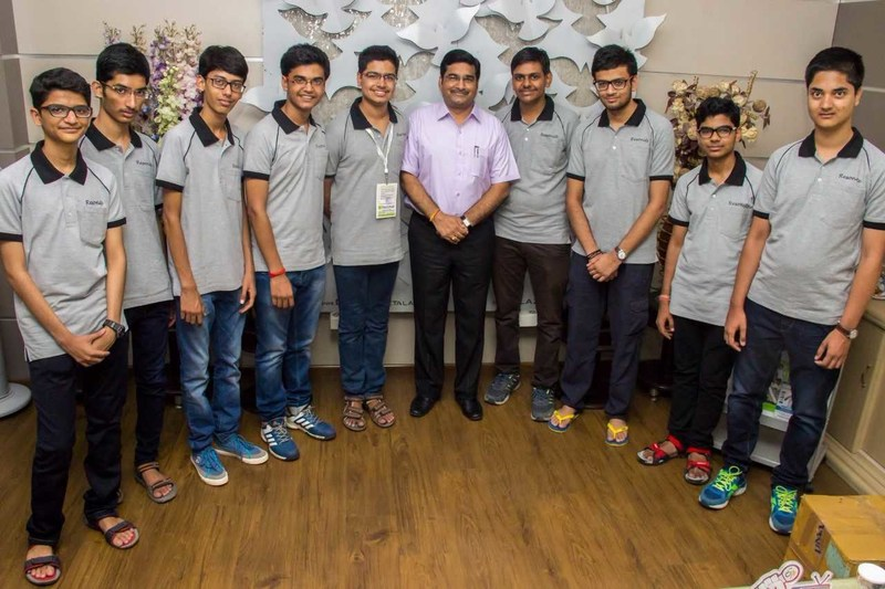 Resonance Toppers in JEE (Advanced) 2017 (PRNewsfoto/Resonance Eduventures Limted)