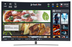 foodnfilm app rolls out on Samsung Smart TV's across the UK (PRNewsfoto/foodnfilm Limited)