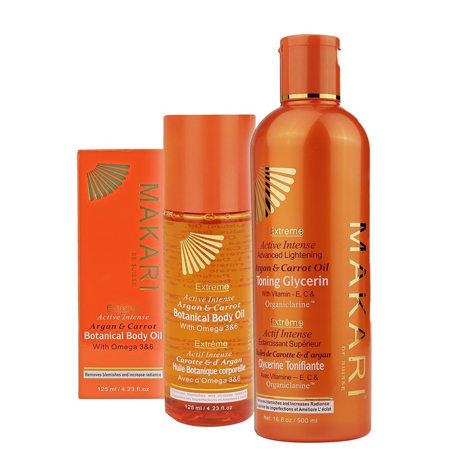 Makari de Suisse Extreme Argan & Carrot Body Oils