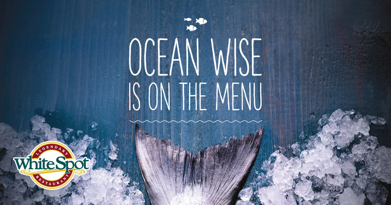 Ocean Wise is on the menu at White Spot (CNW Group/White Spot Restaurant)