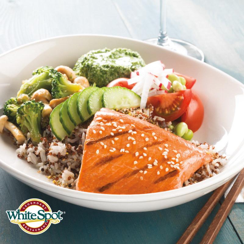 Wild Salmon Donburi (CNW Group/White Spot Restaurant)