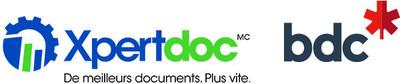 Xpertdoc a annoncé aujourd''hui la conclusion d''une entente de financement avec BDC Capital. (Groupe CNW/Xpertdoc Technologies Inc.)