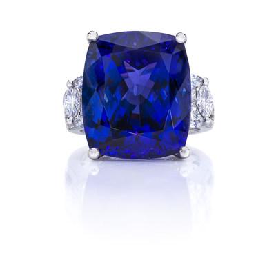 Safi Kilima Tanzanite Couture Ring