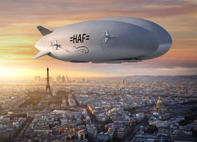 L'aéronef Hybrid Airship permet le transport abordable et sécurisé de marchandises et de personnel presque partout – sur l'eau ou sur terre. Les aéronefs hybrides ont été conçus pour offrir un avenir durable.