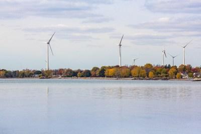 Parc éolien Niagara Region Wind Farm, Boralex Inc. (Groupe CNW/Boralex inc.)