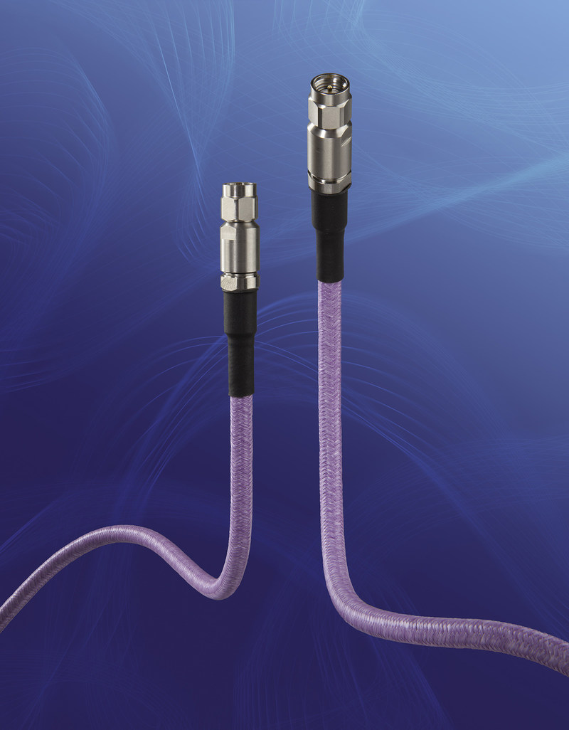 GORE® PHASEFLEX® Microwave/RF Test Assemblies, Type 0N – the smallest, lightest, most internally ruggedized assembly on the market today for modular, multi-port, and multi-site test applications. Gore's high-density test assemblies ensure consistent, repeatable measurements with stable electrical performance up to 50 GHz.
