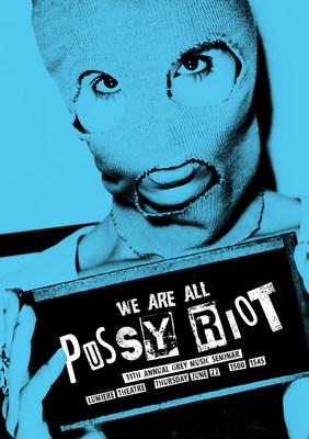 Pussy Riot at Grey Cannes Music Seminar (PRNewsfoto/Grey)