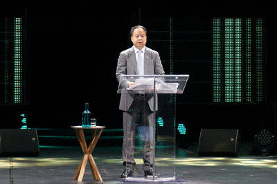 Yu Jun, president of GAC Motor at the Movin'On summit