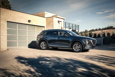 2017 Mazda CX-9 Earns IIHS Top Safety Pick+ Rating (CNW Group/Mazda Canada Inc.)