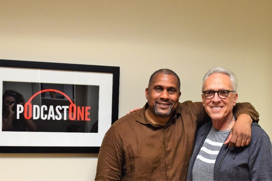Pictured (left to right): Tavis Smiley and Norm Pattiz