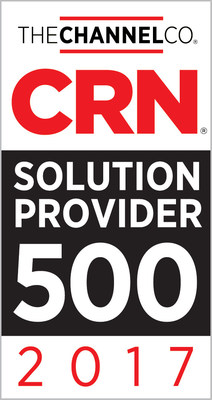 CB Technologies once again makes CRN's SP500 in 2017.
